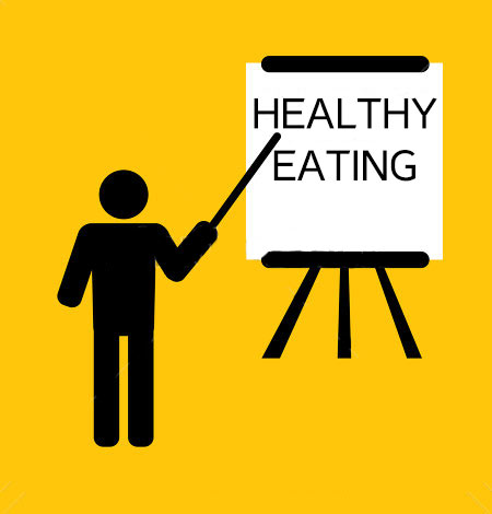 presentation-for-training-or-teaching-business-concept-on-yellow-background-healthy-eating